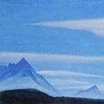 Roerich N.K. (Part 5) - The Himalayas # 3 The blue sky above the mountain peaks