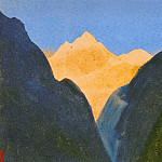 Gorge Gorge # 95 , Roerich N.K. (Part 5)