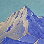 Roerich N.K. (Part 4) - The Himalayas # 117 The summit in the sun