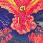 Roerich N.K. (Part 5) - 12 # Terrible (Last angel)