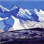Himalayas # 58, Roerich N.K. (Part 5)