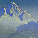 Evening - Kanchenjunga # 26 ]., Roerich N.K. (Part 5)
