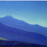 Roerich N.K. (Part 5) - Morning # 89 Morning (Spurs blue mountains before dawn)