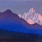 Roerich N.K. (Part 5) - The Himalayas # 79 Sunset