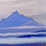 The Himalayas # 132 The waves of fog, Roerich N.K. (Part 5)