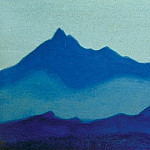 Roerich N.K. (Part 5) - Evening # 13 Evening (silhouettes)