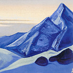 The Himalayas # 110 Pyramids of the blue mountains, Roerich N.K. (Part 5)