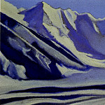 Roerich N.K. (Part 6) - Himalayas # 71 Rocks covered with ice