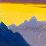 Himalayas # 57 Gone eternity, Roerich N.K. (Part 5)