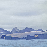 Roerich N.K. (Part 5) - Tibet # 113 (Monastery in winter)