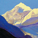 Roerich N.K. (Part 5) - Himalayas # 79 Snow vertex