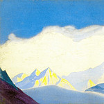 The Himalayas # 66 Under the clouds, Roerich N.K. (Part 5)