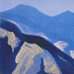 Himalayas # 82 Splashes of light, Roerich N.K. (Part 5)