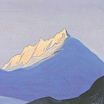 The Himalayas # 117 Snow Castle, Roerich N.K. (Part 5)