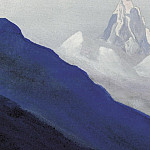 Roerich N.K. (Part 5) - The Himalayas # 132 The snowy peak in the fog