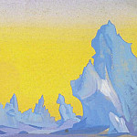 Ice Himalayas # 17, Roerich N.K. (Part 5)