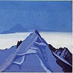 The Himalayas # 1, Roerich N.K. (Part 5)