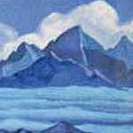 Roerich N.K. (Part 5) - The Himalayas # 120 The cloud over the peaks