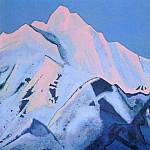 Roerich N.K. (Part 5) - Himalayas # 92 Pink tops