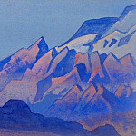 Roerich N.K. (Part 5) - The Himalayas # 30 Night Cliffs