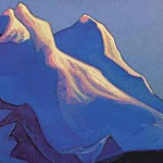 Roerich N.K. (Part 5) - The Himalayas # 139 The Pink Snow