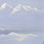 Roerich N.K. (Part 5) - Himalayas # 96 Noctilucent mountain
