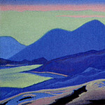 Roerich N.K. (Part 5) - Mountain lake # 121