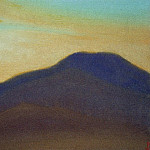 Roerich N.K. (Part 5) - Evening evening # 31 (setting sun)