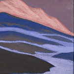 Roerich N.K. (Part 5) - Melting snow # 147 (Flaming sunset)