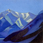 Roerich N.K. (Part 5) - Himalayas # 72 Early morning in mountains