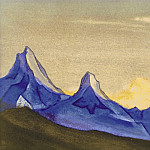 Roerich N.K. (Part 5) - The Himalayas # 99 Two cliffs