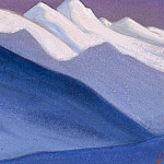 Roerich N.K. (Part 5) - Himalayas # 59 Blue slope