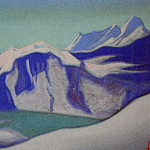 Roerich N.K. (Part 5) - Ladak # 97 Ladak (Turquoise lake in the mountains)