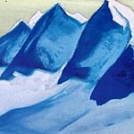 The Himalayas # 149 The Glacier, Roerich N.K. (Part 5)
