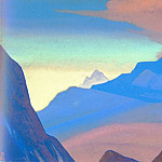 Roerich N.K. (Part 5) - Himalayas # 95 Dawn in mountains