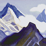 The Himalayas # 73 Calling the Song of the Peaks, Roerich N.K. (Part 5)