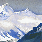 Roerich N.K. (Part 5) - The Himalayas # 127 Silver of a snowy peak