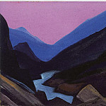 Himalayas # 9, Roerich N.K. (Part 5)