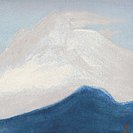 Roerich N.K. (Part 5) - Himalayas # 95 Pink light of the snows