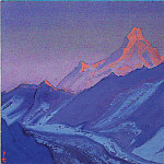 The Himalayas # 25, Roerich N.K. (Part 5)
