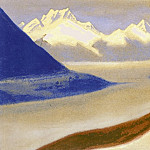 Roerich N.K. (Part 5) - The Himalayas # 17 Calm of ice forms