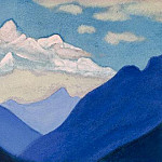 Roerich N.K. (Part 5) - The Himalayas # 111 Mountains and clouds