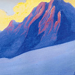 Roerich N.K. (Part 5) - The Himalayas # 114 in the purple rays