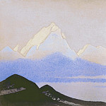 The Himalayas # 56 Earthly and heavenly, Roerich N.K. (Part 5)