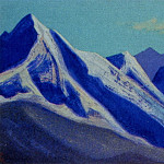 Roerich N.K. (Part 5) - Himalayas # 100 Mountain peaks illuminated by the sun