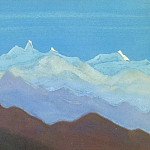 Roerich N.K. (Part 6) - The Himalayas # 187 View of the mountain range