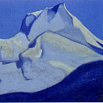 Roerich N.K. (Part 5) - Himalayas # 40 Peaks in the pre-dawn blue