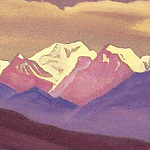 Roerich N.K. (Part 5) - Himalayas # 60 Lilac light