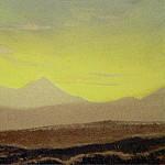Roerich N.K. (Part 5) - Himalayas # 186 Dawn in the mountains