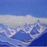 Roerich N.K. (Part 2) - Himalayas # 3 Reflections of the sunrise on the blue peaks
